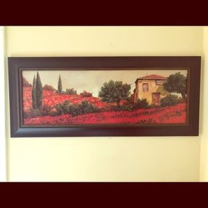 Wall picture, beautiful rich colors.